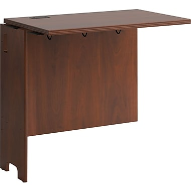 Bush Business Furniture Envoy 32W Desk Return, Hansen Cherry (PR76515)