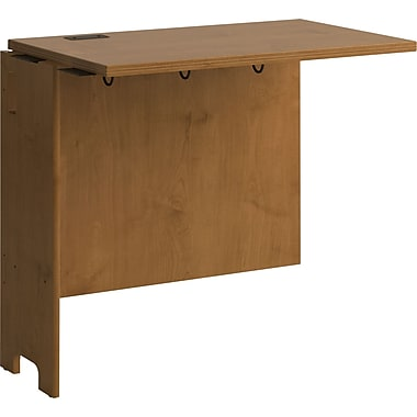 Bush Envoy 32in.W Desk Return, Natural Cherry