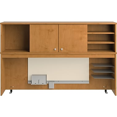 Bush® Envoy Collection Hutch, Natural Cherry Finish