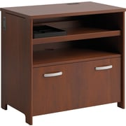 Bush® Envoy Collection Technology File Cabinet, Hansen Cherry Finish