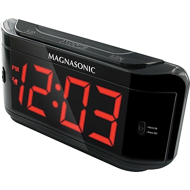 Defender Covert Alarm Clock DVR with Built-in Color Pinhole Spy Camera