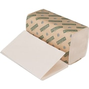 Boardwalk® Green Seal Single-Fold Towels, Natural White, 1-Ply, 9 x 10, 15/Ct