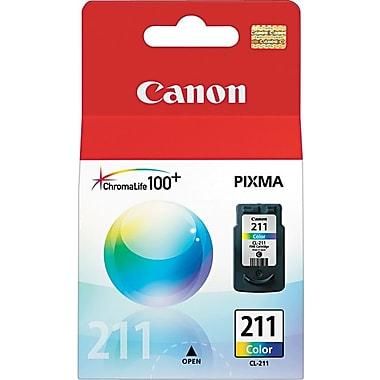 Canon® – Cartouche d'encre couleur CL-211 (2976B001)