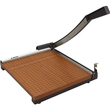 X-ACTO® Square Guillotine Trimmer, Wood Base, 12