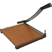 "X-ACTO® Square Guillotine Trimmer, Wood Base, 12"" x 12"""