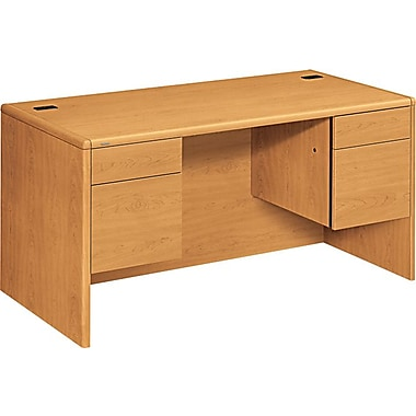 HON 10700 Series 60in. Double Pedestal Desk