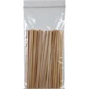 """05""""W x 10""""L 2.0 mil Staples Reclosable Poly Bags, 1000/Case (020510/R510)"""