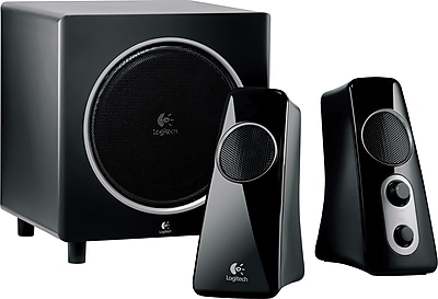 Staples.com deals on Logitech Speaker System Z523 with Subwoofer