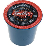 Keurig® K-Cup® Timothy's® Caramel Vanilla Nut Coffee, Regular, 24/Pack