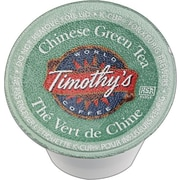 Keurig® K-Cup® Timothy's® Chinese Green Tea, Regular, 24/Pack