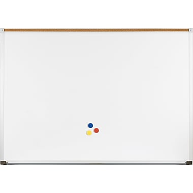 Green-Rite Whiteboard with Deluxe Aluminum Trim 4x6