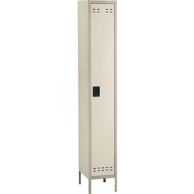 Safco® Steel Locker, Single Tier, 1-Door, Tan