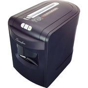 Swingline® EX10-06, 1757392, 10 sheets, Cross-Cut, Jam Free Shredder, Black