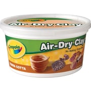 Crayola® 57-5064 Air Dry Clay, Terra cotta