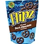 Flipz® Dark Chocolate Covered Pretzels, 4 oz. Bags,
