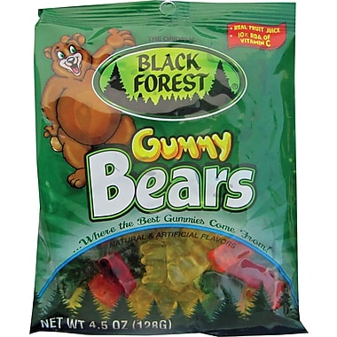 Black Forest Gummy Bears, 4.5 oz. Bags, 12 Bags/Box
