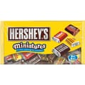 Hershey's® Miniatures, 19.75 oz., 12 Bags/Box