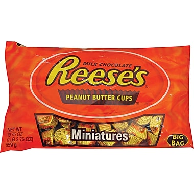 Reese's® Peanut Butter Cup Miniatures, 19.75 oz. Bags, 12 Bags/Box