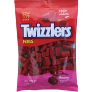Twizzlers® Nibs Cherry Bits Peg Bag, 6 oz. Bags, 12 Bags/Pack