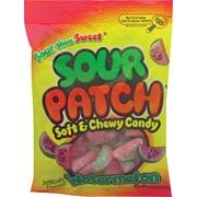Sour Patch Kids® Watermelon Candy Peg Bag, 5 oz. Bags, 12 Bags/Box