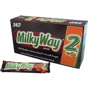 Milky Way® 2 To Go Candy Bar, 3.63 oz. Bars, 24 Bars/Box