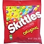 Skittles® Original Fruit Flavored Candy Peg Bag, 7.2