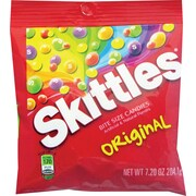 Skittles® Original Fruit Flavored Candy Peg Bag, 7.2 oz. Bags, 12 Bags/Pack