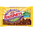 Raisinets® Milk Chocolate Covered Raisins Peg Bag, 7 oz. Bags, 12 Bags/Box