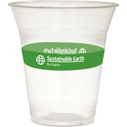 Sustainable Earth By Staples® Compostable Cold Cups, 12 oz., 300/Case