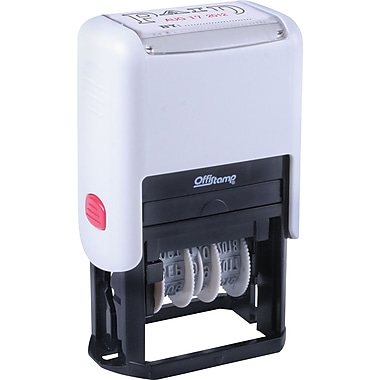 Offistamp Self-Inking Two-Color Dater,