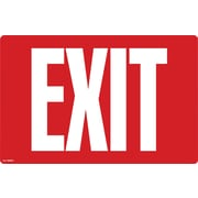 "Cosco® Exit Sign - Glow in the Dark, 8"" x 12"""