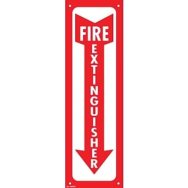 Cosco® Fire Extinguisher - Glow in the Dark Sign, 13in. x 4in.