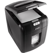 Swingline® Stack-and-Shred™ 100X, 1757571, 100 Sheets, Cross-Cut, Auto Feed Shredder, Black