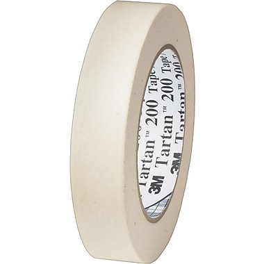 3M™ #200 Masking Tape, 1/2in. x 60 yds., 72/Case