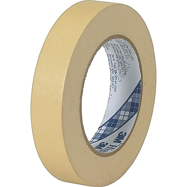 3M™ #2307 Masking Tape, 1/2in. x 60 yds.,  72/Case