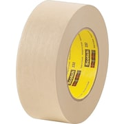 3M™ #232 Scotch® High Performance Masking Tape, 1/2 x 60 yds., 72/Case