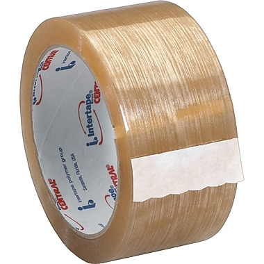 Intertape® 520 Premium Carton Sealing Tape, Clear, 2in. x 110 yds., 36/Case