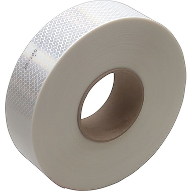 3M™ #983 Reflective Tape, White, 2in. x 150', Each, 1/Pack