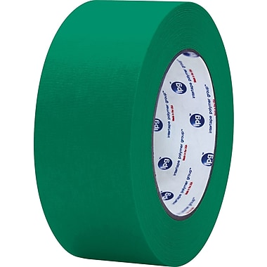 Intertape® PF3 Dark Green Masking Tape, 2in. x 60 yds., 24/Case