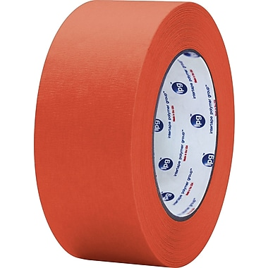 Intertape® PF3 Red Masking Tape, 2in. x 60 yds., 24/Case