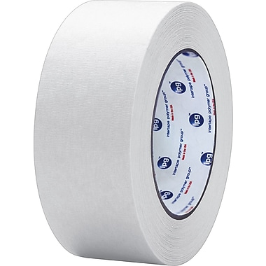 Intertape® PF3 White Masking Tape, 2in. x 60 yds., 24/Case