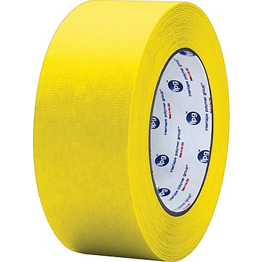 Intertape® PF3 Yellow Masking Tape, 2in. x 60 yds., 24/Case