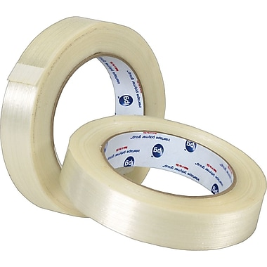 3in. x 60 yds. (12 Pack) Tape Logic™ #1300 Filament Tape