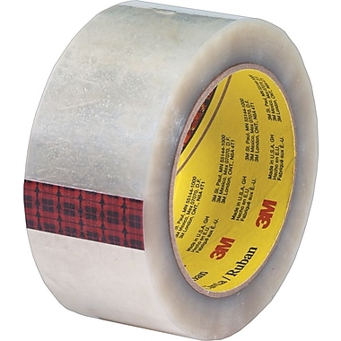 Scotch® #355 Hot Melt Packaging Tape, 2in. x 55 Yards, Clear, 6/Pack