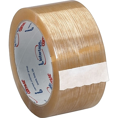 Intertape® 500 Production Grade Carton Sealing Tape, 2in. x 55 yds., Clear, 6/Pack