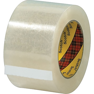 Scotch® #313 Acrylic Packaging Tape, 3in. x 55 yds., 6/Pack