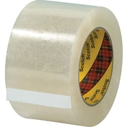 Scotch® #313 Acrylic Packaging Tape, 3 x 55 yds., 6/Pack