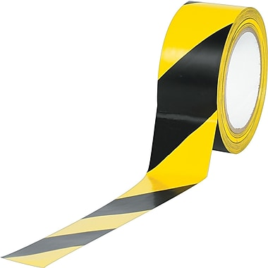 Industrial Vinyl Safety Tape, Striped
