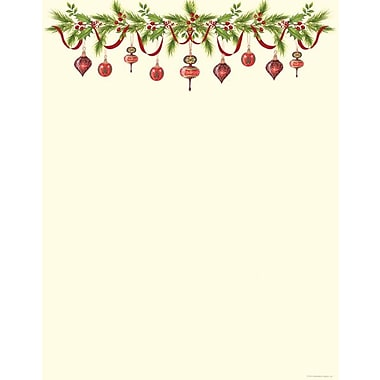 Great Papers® Grandma's Ornaments Stationery