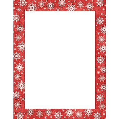 Snowy Flakes Stationery